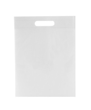 Shopper TNT Colorato manico fustellato Bianco