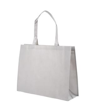 Shopper Tnt Plastificato Opaco Grigio Perla