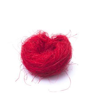Sisal Colorato Rosso