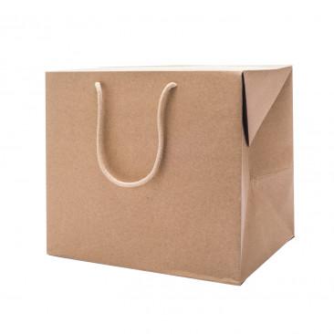 Bag Box Kraft per Confezioni Avana