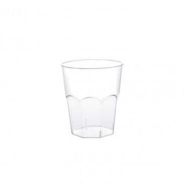Bicchieri Plastica Trasparente 50cc Trasparente
