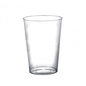Bicchiere Plastica Elegance Trasparente