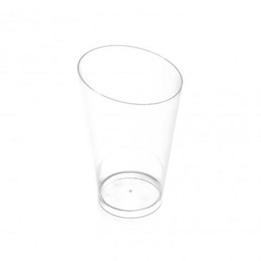 Bicchierino conico alto Trasparente