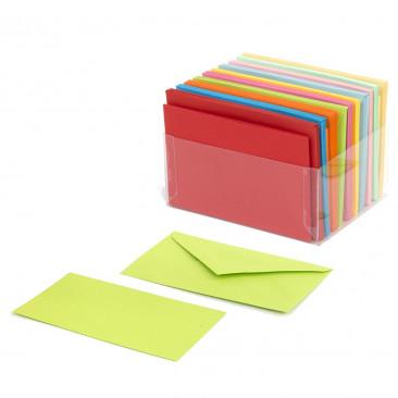 Bigliettini Colorati Mix 10 Colori