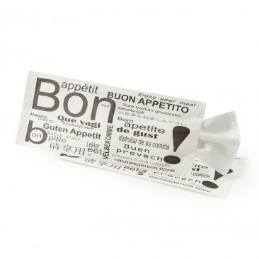 Busta Portaposate Bon Appétit con Tovagliolo