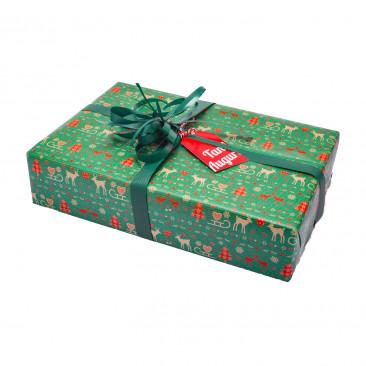 Carta Regalo Natura Kraft Natale Mix