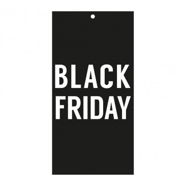 Cartellino Sconto Black Friday