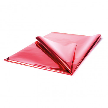 Carta Regalo Metallizzata Rosso