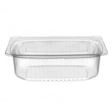 Contenitore Rettangolare Plastica con coperchio Trasparente