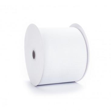 Bobina Tessuto Tulle Bianco