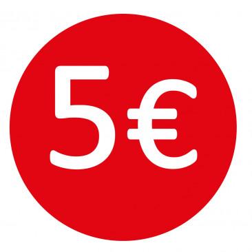 Etichetta 5€
