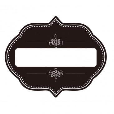 Etichetta Adesiva Stile Lavagna