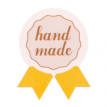 Etichetta Adesiva Handmade