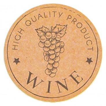 Etichetta Adesiva Wine Vintage Mix