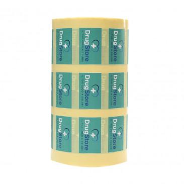 Etichette Rettangolari stampa a colori opaca