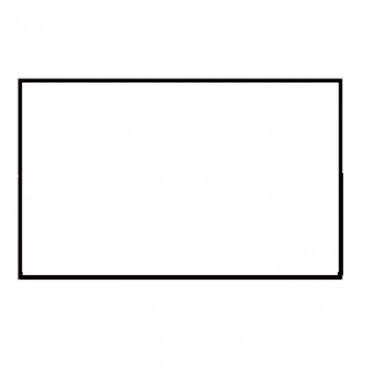 Etichette Rettangolari Removibili Bianco