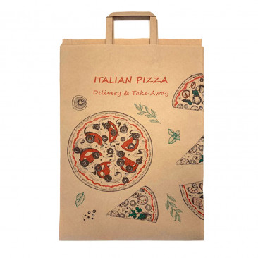 Shopper Carta per Pizza Flat Bag