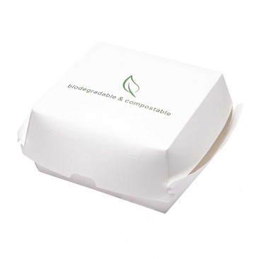Hamburger Box in Cartoncino e PLA