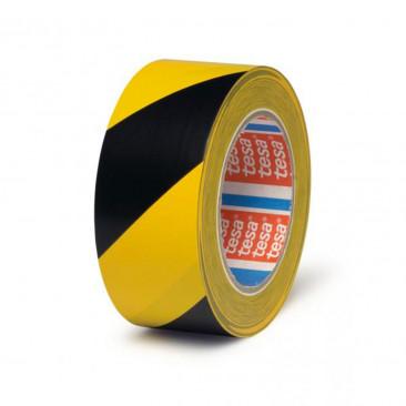 Nastro Segnaletico in PVC Giallo e Nero