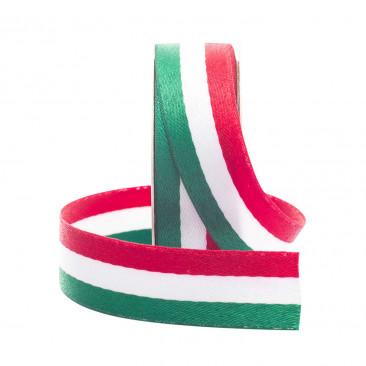 Nastro Tricolore Cotone e Poliestere