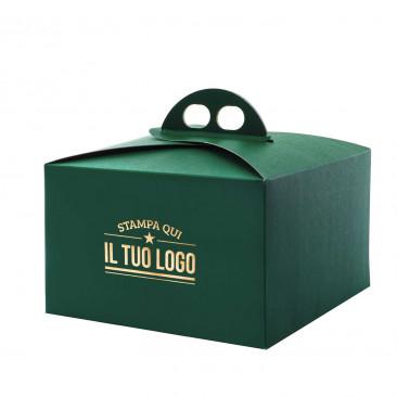 Portapanettone Basso Classic Personalizzato