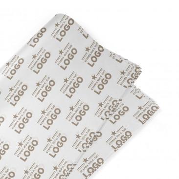 Carta Pelleaglio Bianca per Alimenti Personalizzata 1 colore