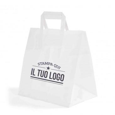 Shopper Basic Food Line Maniglia Piattina Personalizzata