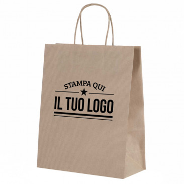 Shopper Carta Sealing Naturale Personalizzata