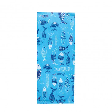 Portaposate con Tovagliolo Blue Fish