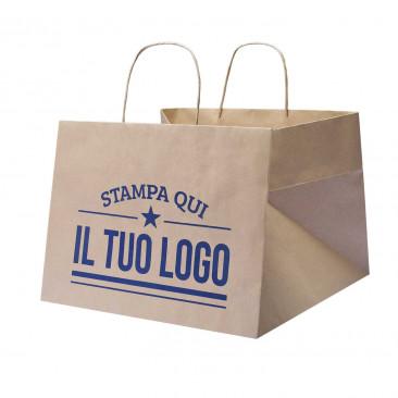 Shopper Kraft Foodline Maxi Cordino Personalizzata 1 lato