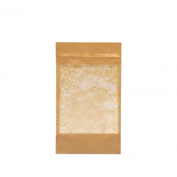 Sacchetti Kraft per Alimenti con Zip Avana