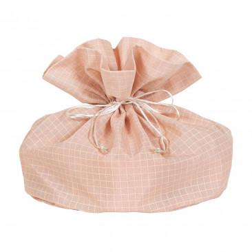 Sacchetti Portacolomba Quadretti Rosa Antico
