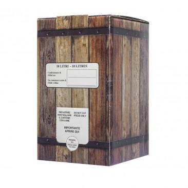 Scatola Bag in Box per vino linea Rovere