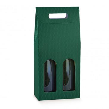 Scatola Portabottiglie Spot Verde