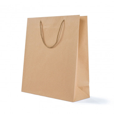 Shopper Carta Kraft Lusso Avana