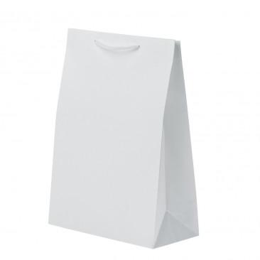 Shopper Carta Withe Lusso Bianco