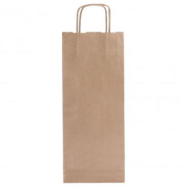 Shopper Carta Sealing Avana Portabottiglie Avana