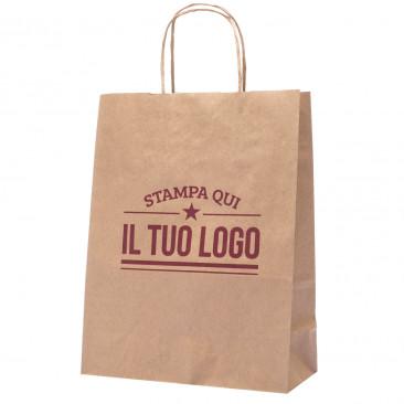 Shopper Avana Manico Cordino Personalizzata