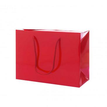 Shopper Carta Lusso Lucida Bag Rosso