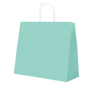 Shopper Carta Pastello Acquamarina