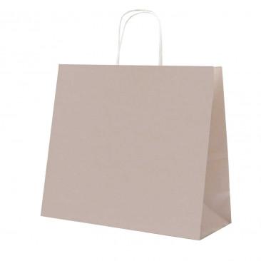 Shopper Carta Pastello Tortora