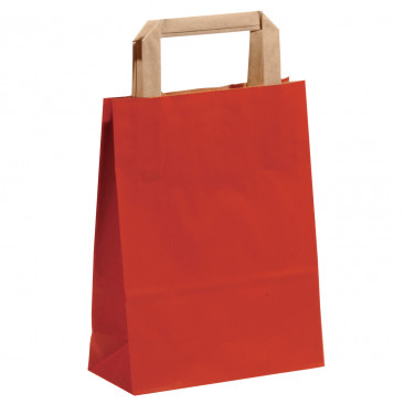 Shopper Carta Sealing Colorata Rosso