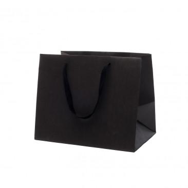 Shopper Fondo Largo Kraft Elegance Nero