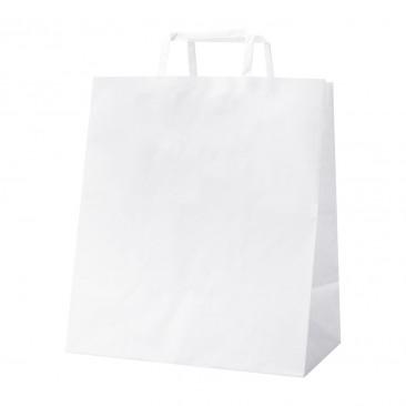 Shopper White Food Line Bianco