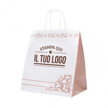 Shopper Take Away Capri Personalizzata
