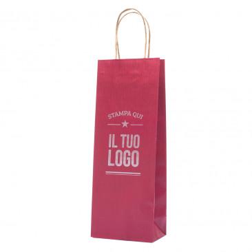 Shopper Portabottiglie Linea Easy Personalizzate
