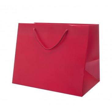 Shopper Portapanettone Lusso Lucida Rosso