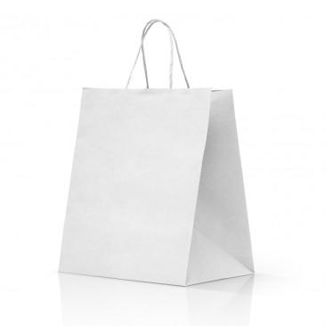 Shopper Take Away Manico Cordino Bianc