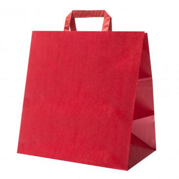 Shopper Take Away piattina Rosso