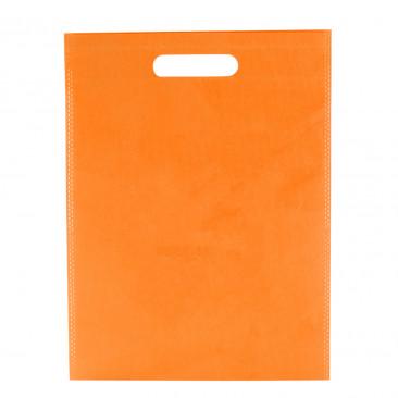 Shopper TNT Colorato manico fustellato Arancio